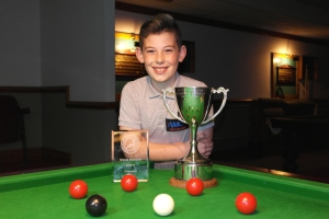 West of England Bronze Waistcoat Open Snooker Championship - Winner Liam Davies 2016