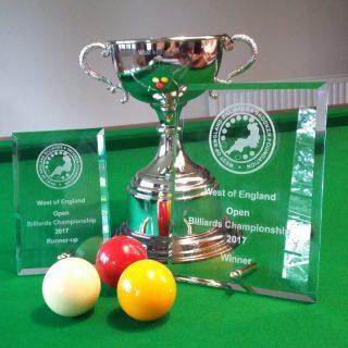 WOE Billiards Open Trophies 2017