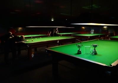 WOE Open Billiards Championship Venue The Galaxy, Torquay - 2017