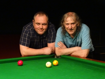 WOE Open Billiards Plate Finalists - Nigel Ward & Ray Mears 2016-17
