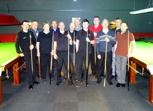 WOE Open Billiards - The Players 2016-17