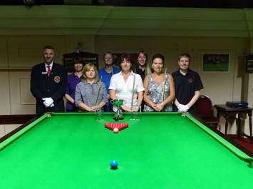 Ladies Snooker Open - Players 2017