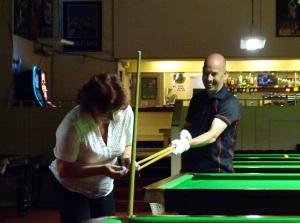 Steve Brookshaw lending a helping Hand Aug 2017