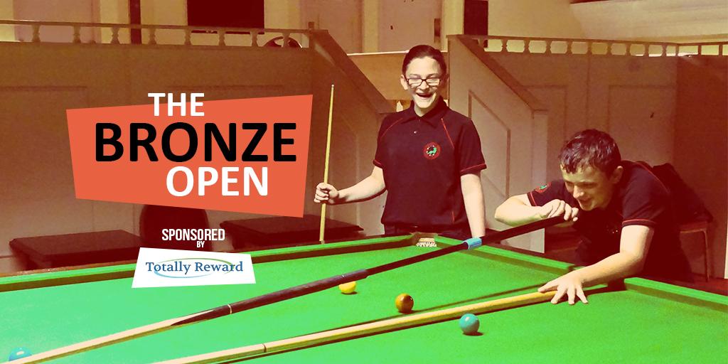 Bronze Snooker Open Social Media Graphic