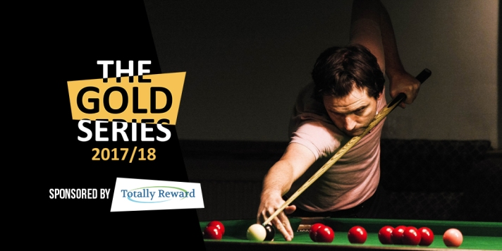Gold Snooker Series Social Media Graphic - Stuart Watson