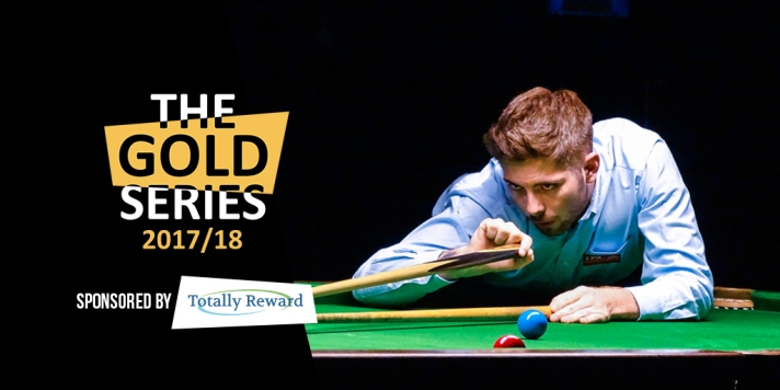 Gold Snooker Series Social Media Graphic - Harvey Chandler