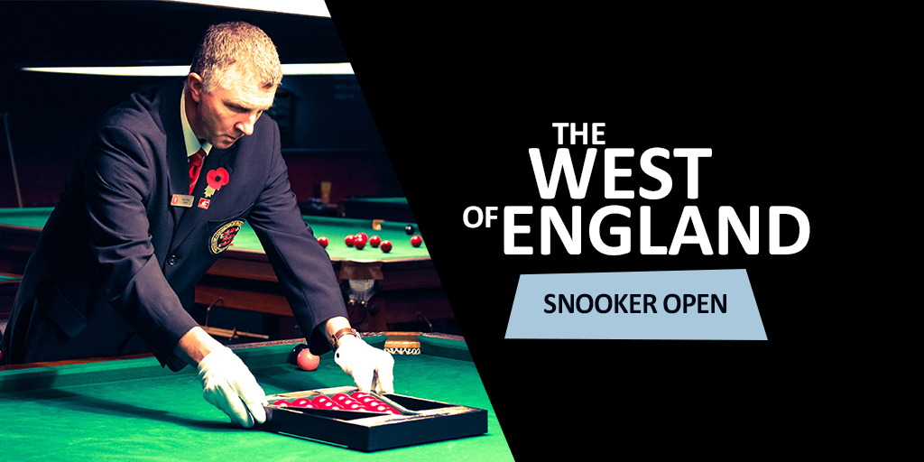 West of England Snooker Open Social Media Graphic