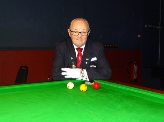 WEBSF English Billiards Open Referee - John Wilde 2017-18