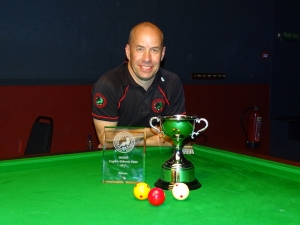 WEBSF English Billiards Open Winner - Steve Brookshaw 2017-18
