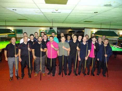 West of England Snooker Open 2017 - The Players