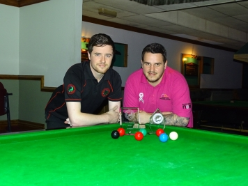 West of England Snooker Open Finalist 2017 - Dale Branton & Tom Kevern