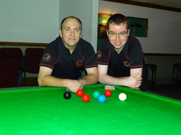 West of England Snooker Open Plate Finalist 2017 - Martin Pitcher & Chris Coumbe