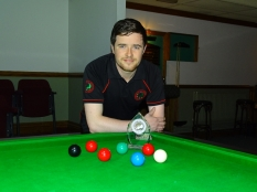 West of England Snooker Open Winner 2017 - Dale Branton