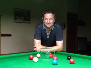 Gold Series Event 1 Winner - Andy Neck 2017-18