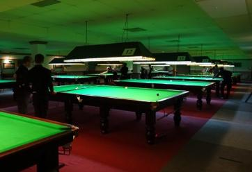 Bronze Snooker Open - Coaching & Tournament in progress 2017-18