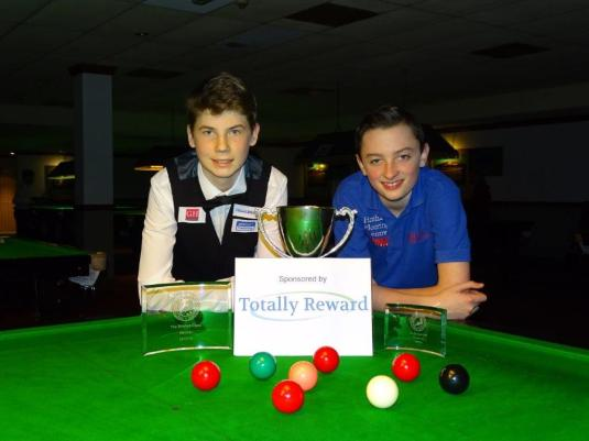 Bronze Snooker Open Finalist - Connor Benzey & Aidan Murphy 2017-18