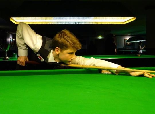 Bronze Snooker Open Highest Break (77) - Connor Benzey 2017-18