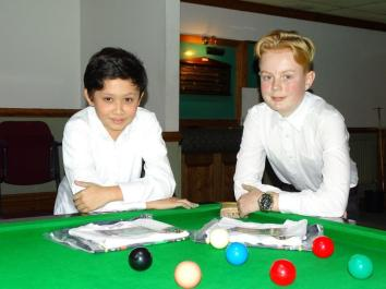 Bronze Snooker Open Plate Finalist - Raphael Nacionales-Rowland and Jack Ratcliffe 2017-18