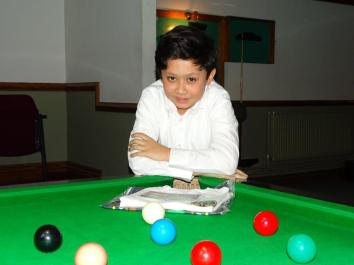 Bronze Snooker Open Plate Winner - Raphael Nacionales-Rowland 2017-18