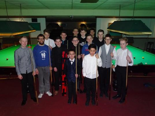 Bronze Snooker Open - The Players 2017-18