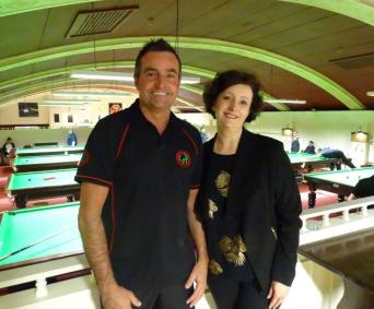 Gold Series Event 2 Eddie Manning with Sponsor - Highest Break Non-Qualifier (100) 2017-18