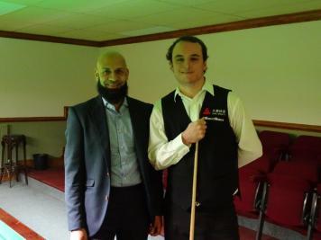 Hassan Vaizie and Sam Baird 2017