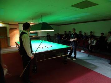 Sam Baird being set a red ball skill challenge 2017