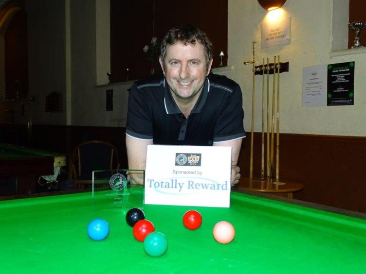 Gold Series Event 3 Winner - Andy Neck 2017-18