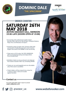 Poster - Dominic Dale Exhibition 2018