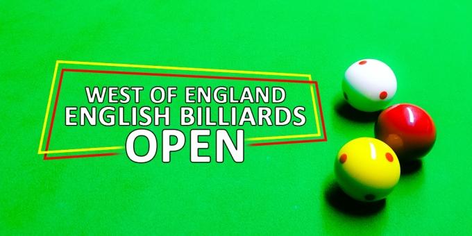 West of England Billiards Open Social Media
