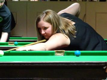 Ladies Snooker Open 2018 Runner-up - Louise Cordrey