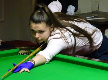 Ladies Snooker Open 2018 Winner - Chloe White