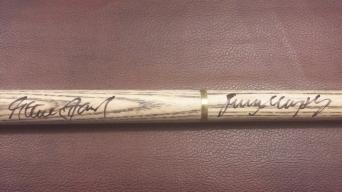 Signed Cue Davis & Murphy