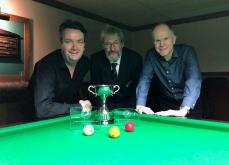 WOE Open Billiards finalists - John Mullane & Michael White 2017-18