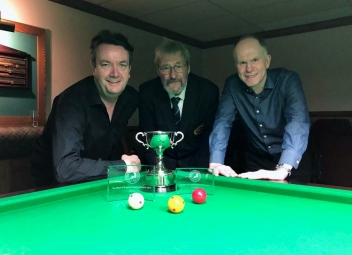 WOE Open Billiards finalists - John Mullane & Michael White 2017-18