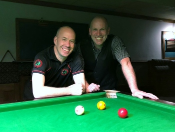 WOE Open Billiards Plate Finalists - Steve Brookshaw & Graham Ward 2017-18