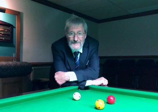 WOE Open Billiards Referee - Dave Cook 2017-18