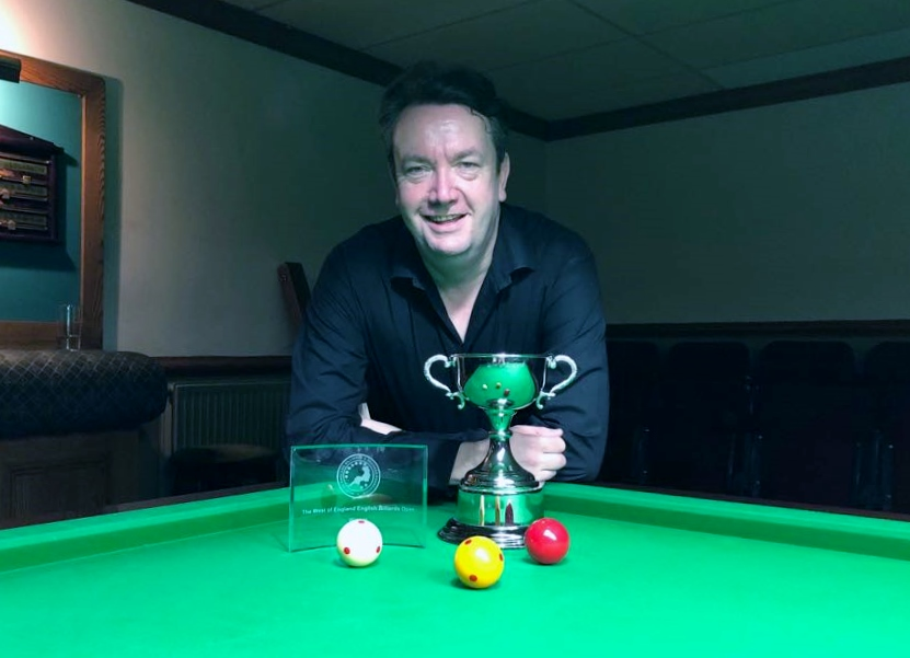 WOE Open Billiards Winner & Highest Break (183) - John Mullane 2017-18