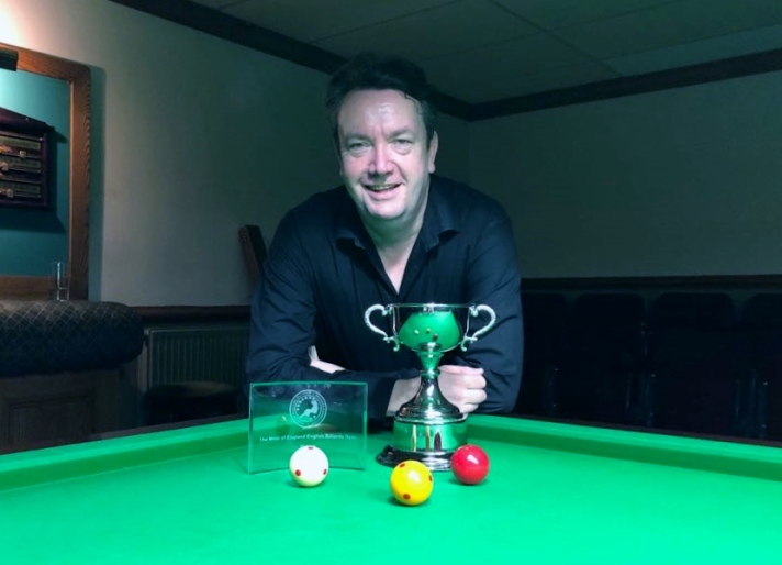 WOE Open Billiards Winner & Highest Break (183) - John Mullane 2017-18