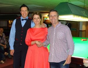 Dominic Dale exhibition 2018 - with Silvia Mondello & Jason Whittaker (Masters Semi-finalist)