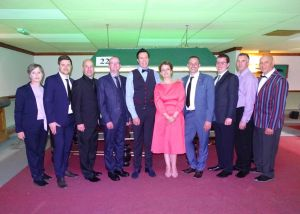 Dominic Dale, Silvia Mondello, Nick Harry with the WEBSF Management Team