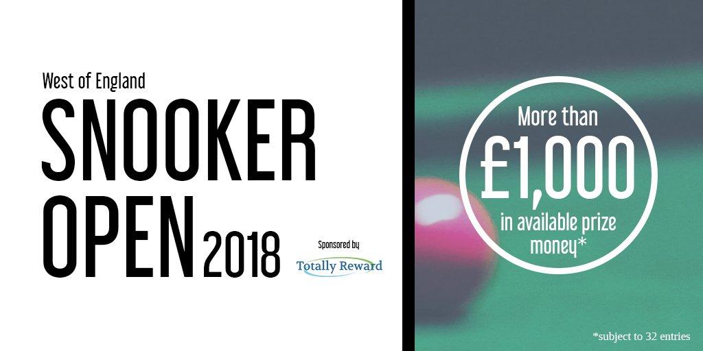 West of England Snooker Open 2018