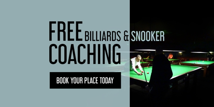 Free Billiards & Snooker Coaching 2018