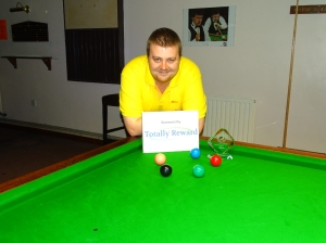 Gold Series Event 1 Winner - Andy Symons 2018-19