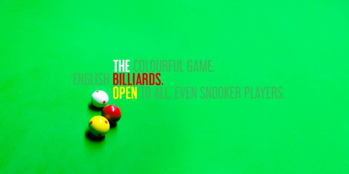 The Billiards Open 2018 Social Media Graphic