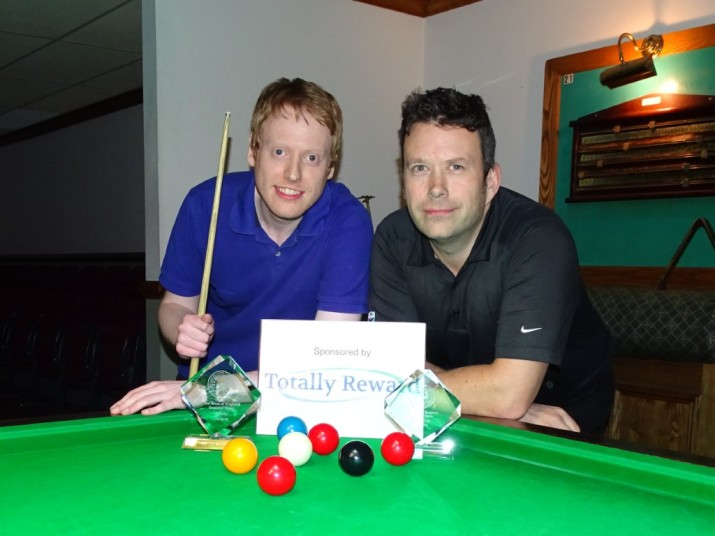 West of England Snooker Open 2018 - Finalists Ryan Mears Winner & James Height Runner-up