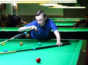 West of England Snooker Open 2018 - Joint Highest Break (119c) Winner Aidan Murphy