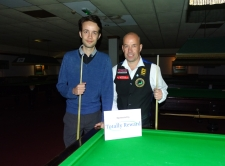 West of England Snooker Open 2018 - Plate Finalists Daniel Hall Runner-up & Steve Brookshaw Winner