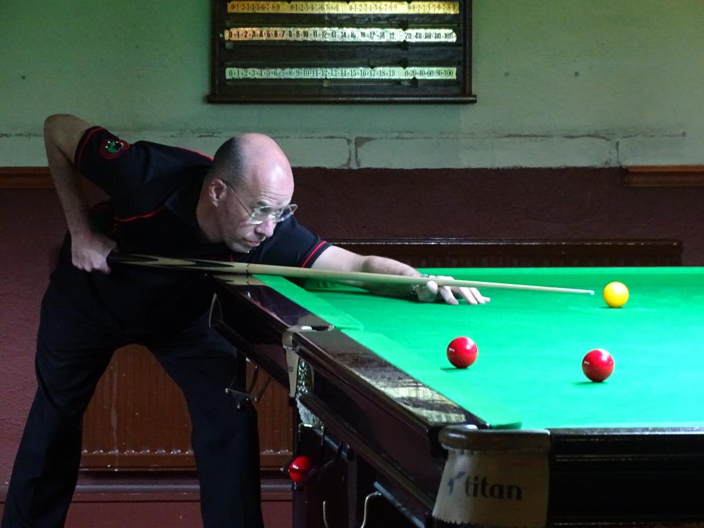 Gold Series Event 2 Winner Steve Brookshaw 2017-18