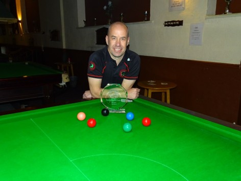 Gold Series Event 2 Winner Steve Brookshaw - 2018-19